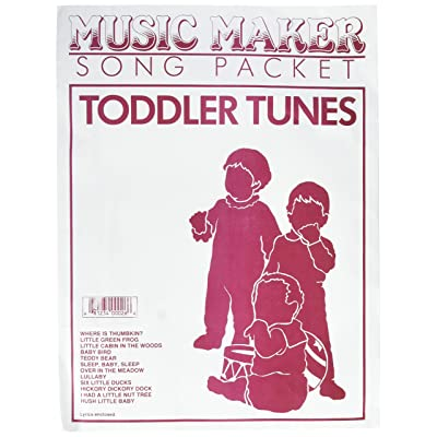 European Expressions Intl Music Maker Toddler Tunes Song Packet: Toys & Games
