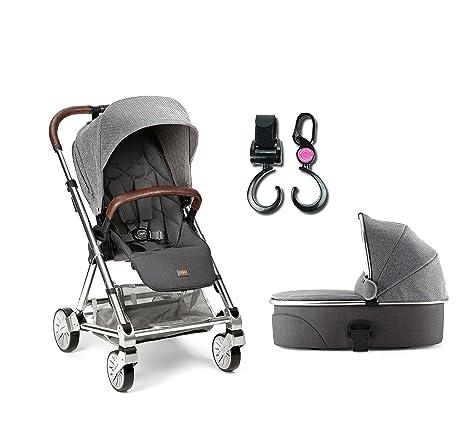 Mamas & Papas Urbo² carrito/capazo convertible en 2 piezas) y gancho N paseo