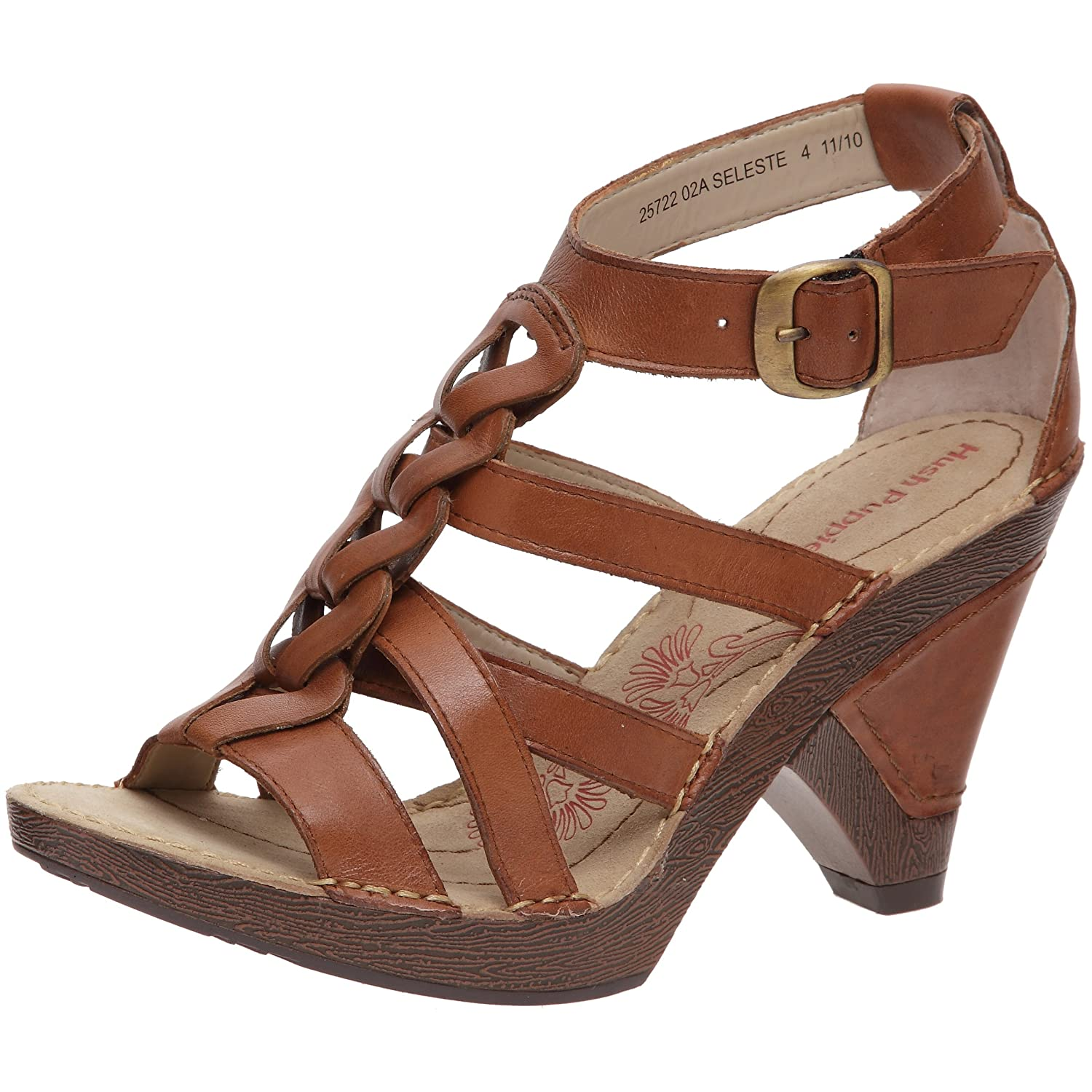 840ebf37520 Hush Puppies Women s Seleste Sandal Tan UK 7  Amazon.co.uk  Shoes   Bags