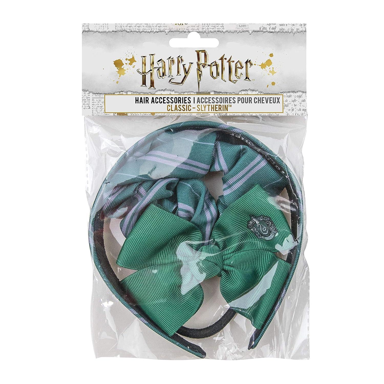 Handmade Harry Potter Slytherin Black Hair Bow