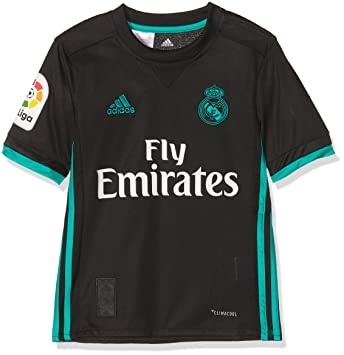 f1128ec2fa8 adidas Boys Jsyy 2nd Kit Real Madrid 2017-2018-lfp T-Shirt  Amazon ...