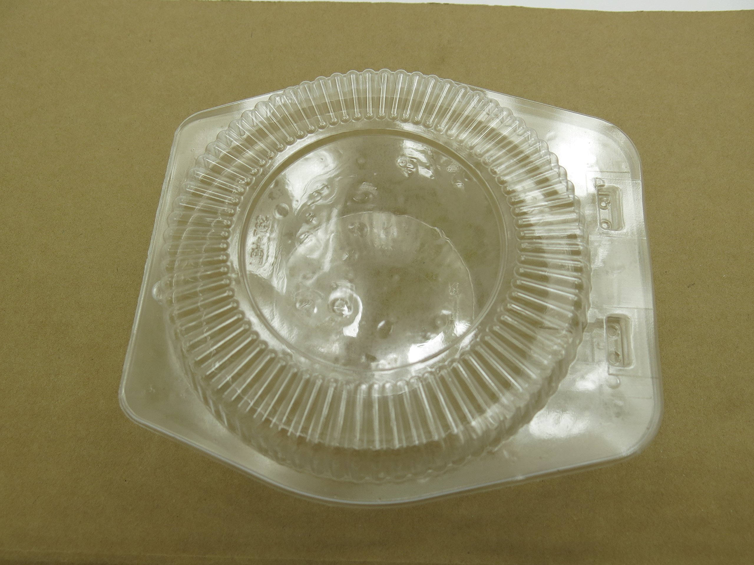 5'' Disposable Clear Clam shell Display Container. For All 5'' tart and Pie pans #762 (500)