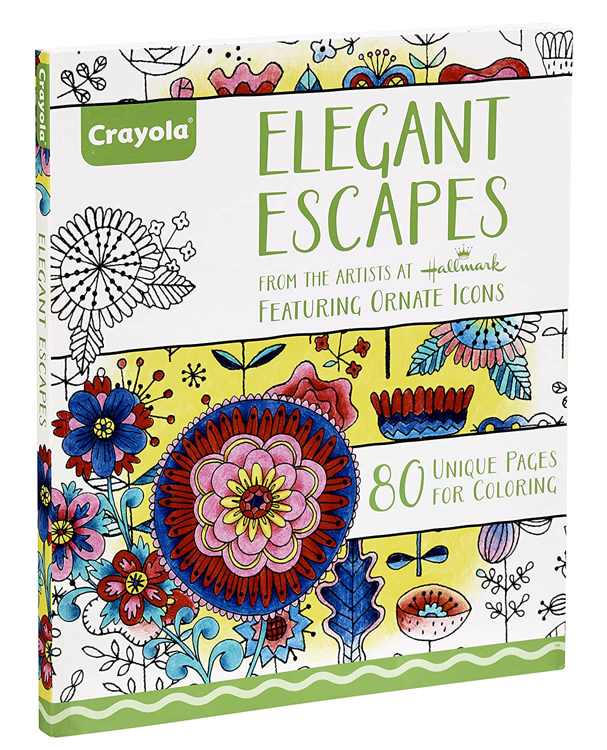 Vivid Imaginations Crayola Elegant Escapes Coloring Book Amazoncouk Toys Games