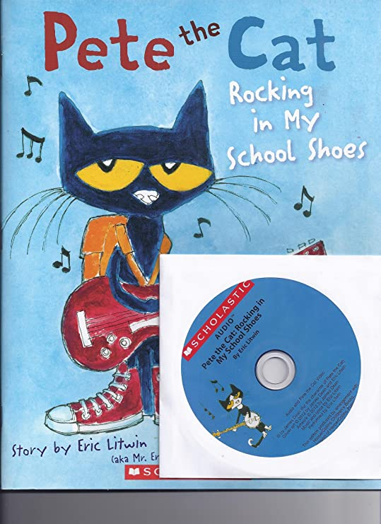 Amazon.com : Pete the Cat: Rocking in My School Shoes Paperback Book ...