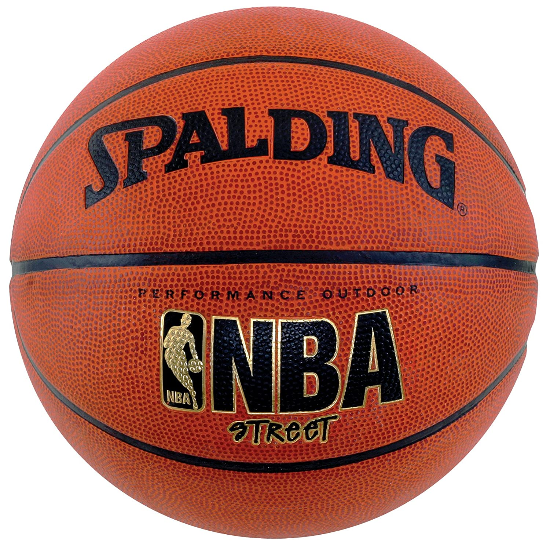 Amazon.com : Spalding NBA Street Basketball - Intermediate Size 6 ...