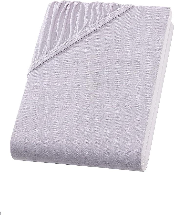140-160 x 200-220 cm Stegh/öhe BIS zu 40 cm p/étrole Hometex Drap-Housse Exclusif /à sommier tapissier 160 g//m/²