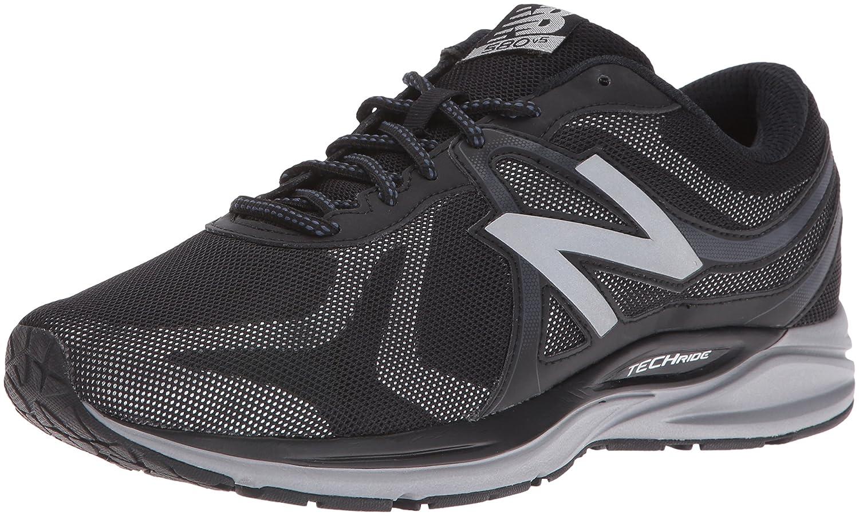 New Balance Men's M580V5 Running Shoes B01CQT00SE 10.5 4E US Black