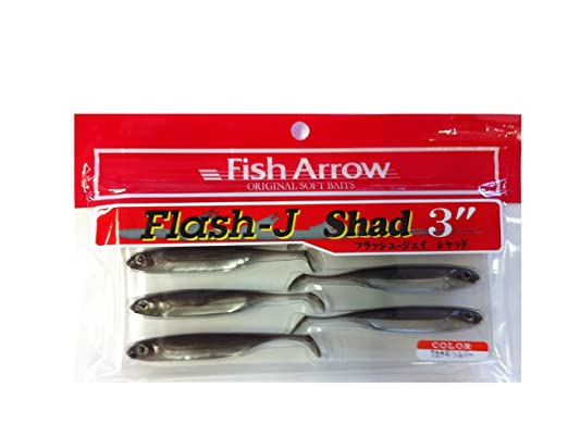 Fish Arrow/フィッシュアロー Flash-J SHAD/フラッシュジェイシャッド 3inch の画像