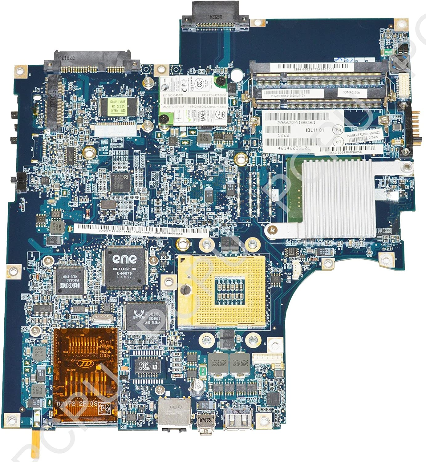 41R7622 IBM Lenovo 3000 N100 Intel Laptop Motherboard s478