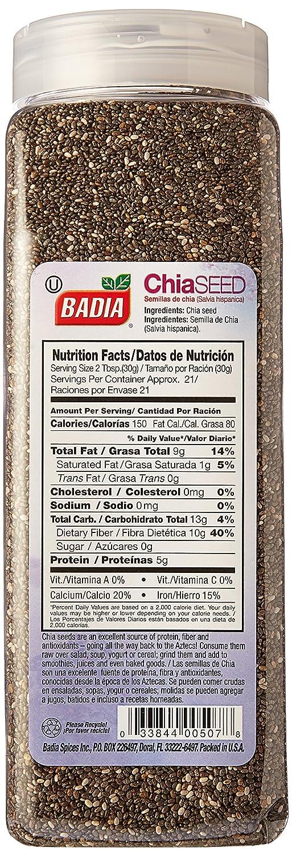 Badia Chia Seed 22 oz: Amazon.com: Grocery & Gourmet Food