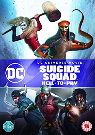Amazon Com Suicide Squad Hell To Pay Dvd 2018 Movies Tv