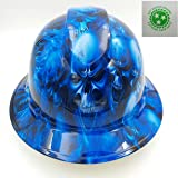 Wet Works Imaging Customized Pyramex Full Brim Ice Skull Hat With Ratcheting Suspension