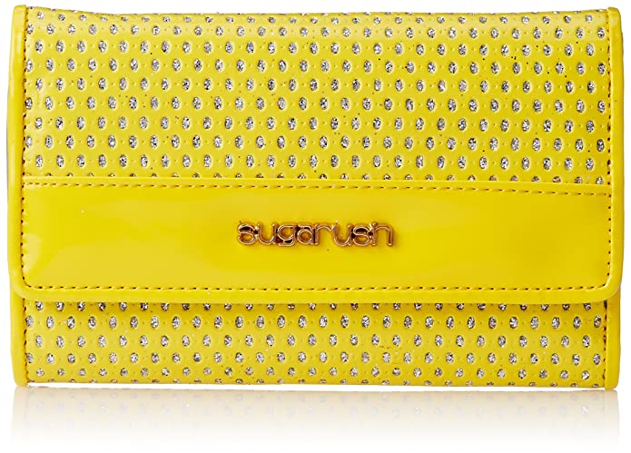 Sugarush Glitz Women's Wallet (Yellow) Women's Wallets at amazon