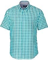 Cutter & Buck Men's S/S Los Rios Check Shirt