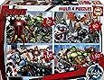 Educa - 16331 - Puzzle Classique - Multi 4 En 1 - The Avengers