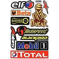 Sponsors Hoja Racing Decal Sticker Tuning Racing Tamaño: