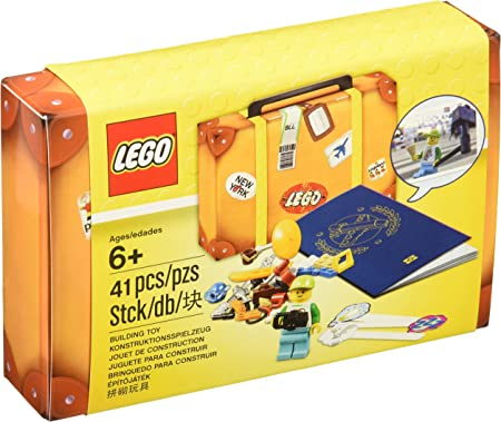LEGO Maleta de viaje de viaje de lego: Amazon.es: Juguetes y juegos
