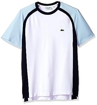 221f93bf2 Lacoste Men s Short Sleeve Made in France Tech Pique Regular Fit T-Shirt
