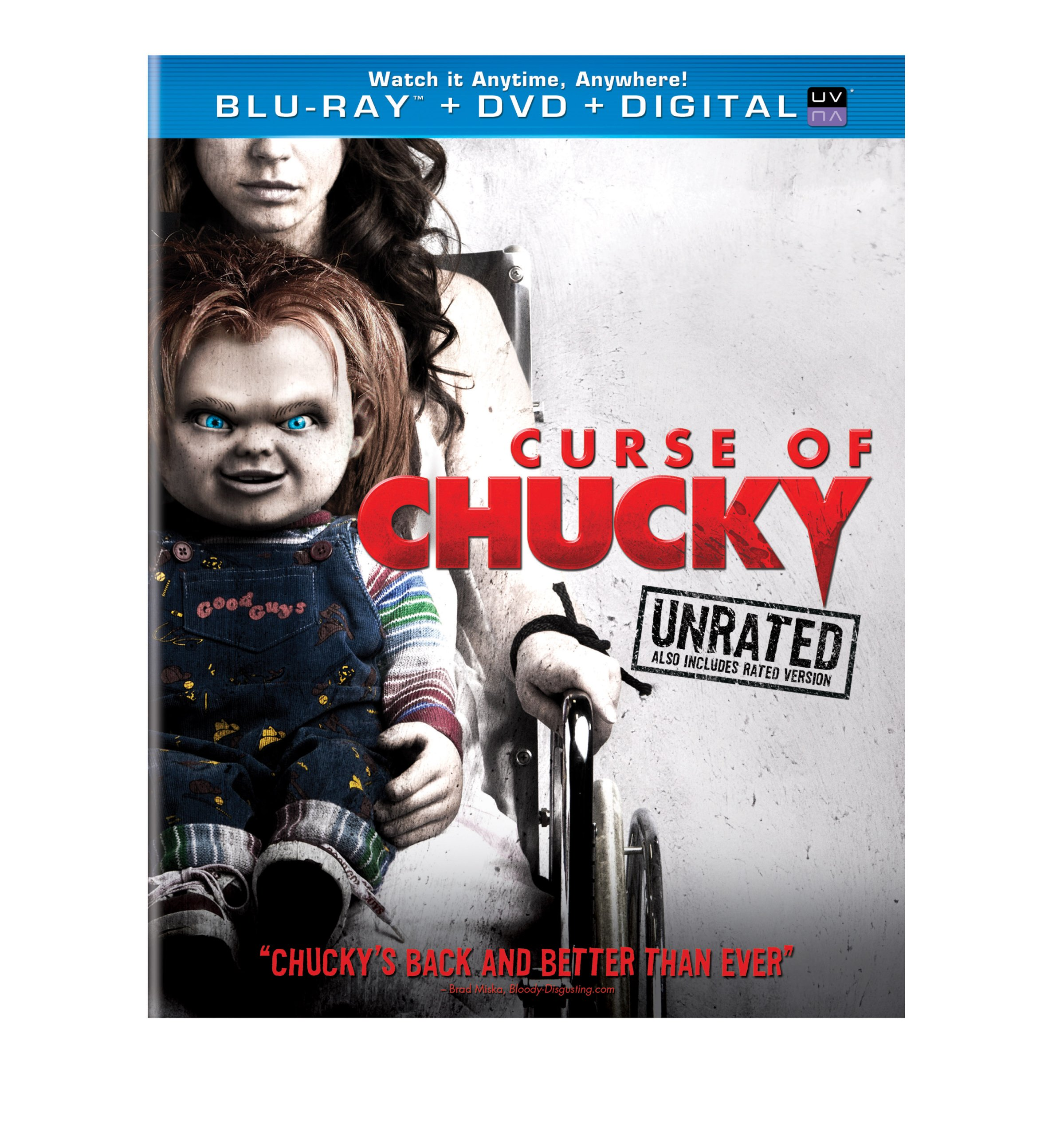 Blu-ray : Curse of Chucky (With DVD, Ultraviolet Digital Copy, Digital Copy, Snap Case, Slipsleeve Packaging)