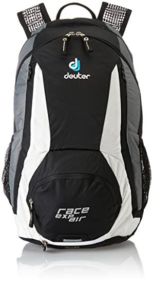 Deuter Race EXP Air Mochila para Ciclismo, Unisex Adulto, Negro (Black/White), 12 l: Amazon.es: Deportes y aire libre
