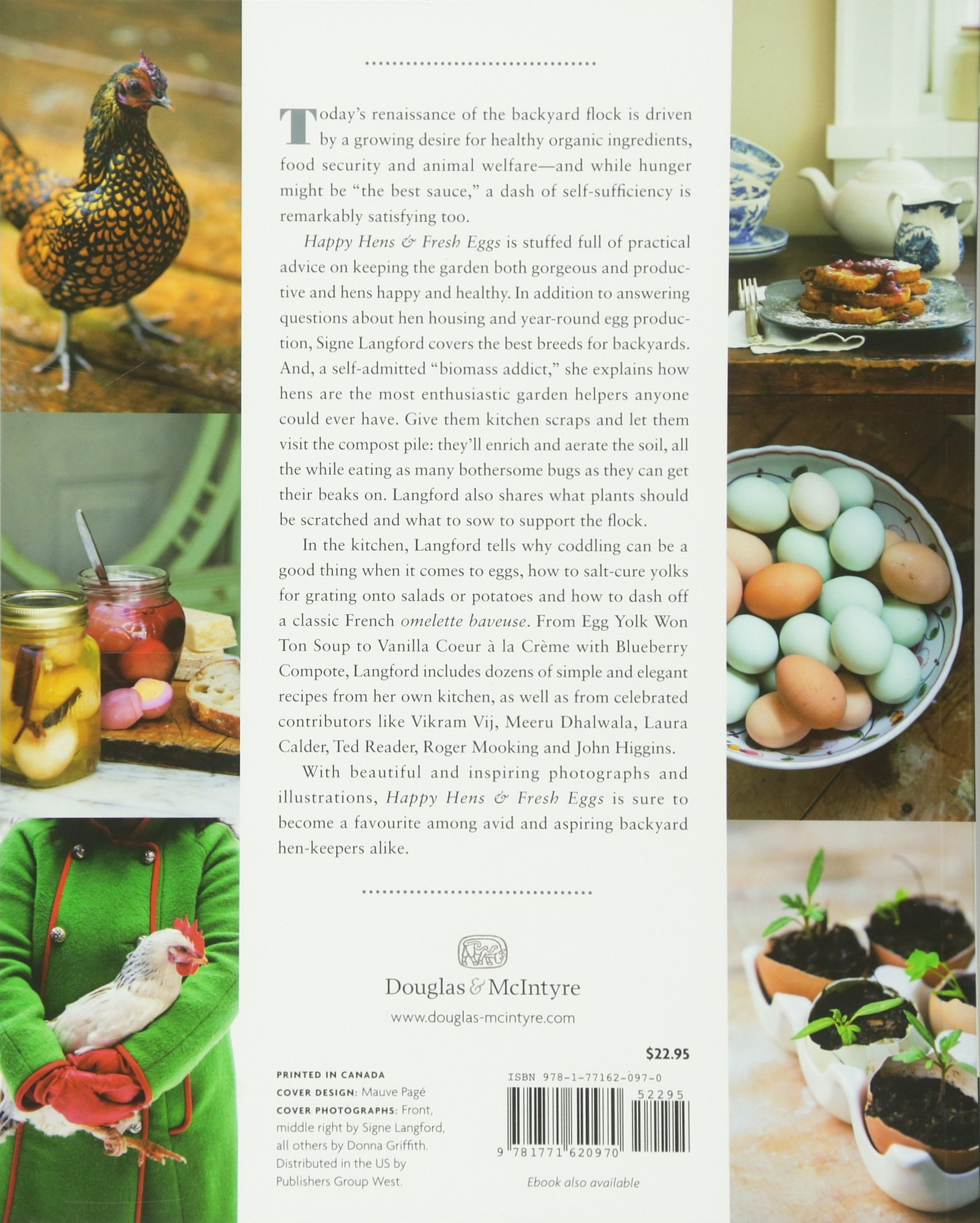 Happy Hens /& Fresh Eggs Keeping Chickens in the Kitchen Garden with 100 Recipes