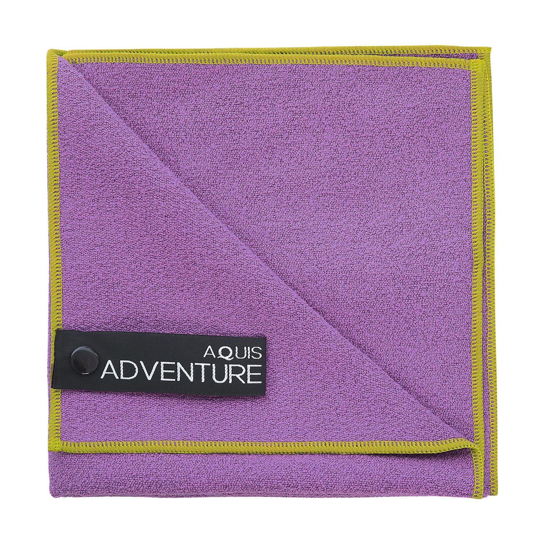 Blueberry 29 x 55 Aquis Adventure Extra Large Microfiber Towel