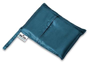 Nod-Pod Sábana para Saco de Dormir - Individual - Azul Verde: Amazon.es: Deportes y aire libre