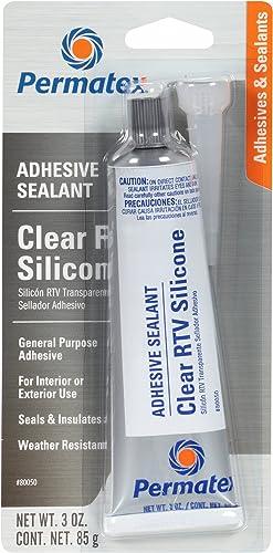 Permatex-80050-Clear-RTV-Silicone-Adhesive-Sealant