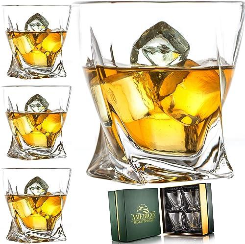 Amerigo Premium Whiskey Glass Set