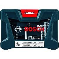 Kit de Pontas e Brocas Bosch V-Line para parafusar e perfurar com 41 unidades