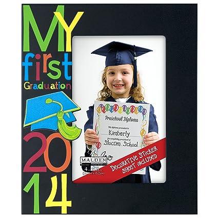 Malden International My Frist Graduation 2014 Picture Frame, 4 by 6 ...
