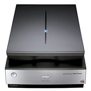 Epson Perfection V800 Photo A4 Flatbed Scanner with ReadyScan LED Technology - 6400 x 9600 dpi