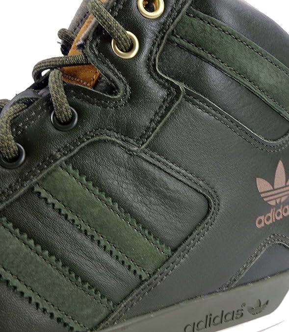 Adidas Hardcourt Hi Fettleder in Handarbeit Herren Schuhe