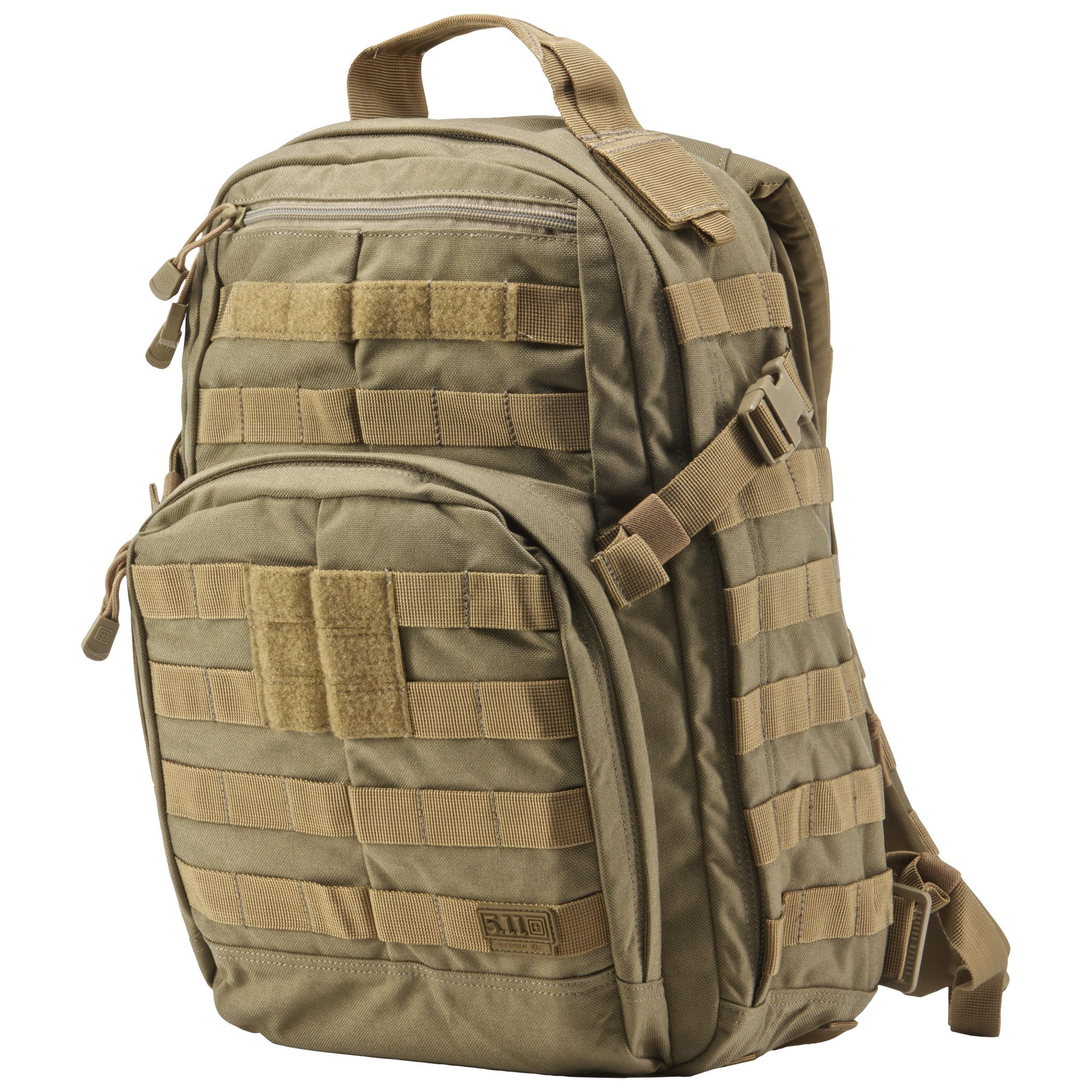 5.11 RUSH12 Tactical Military Assault Molle Backpack, Bug Out Rucksack Bag, Small, Style 56892, Sandstone by 5.11 (Image #5)
