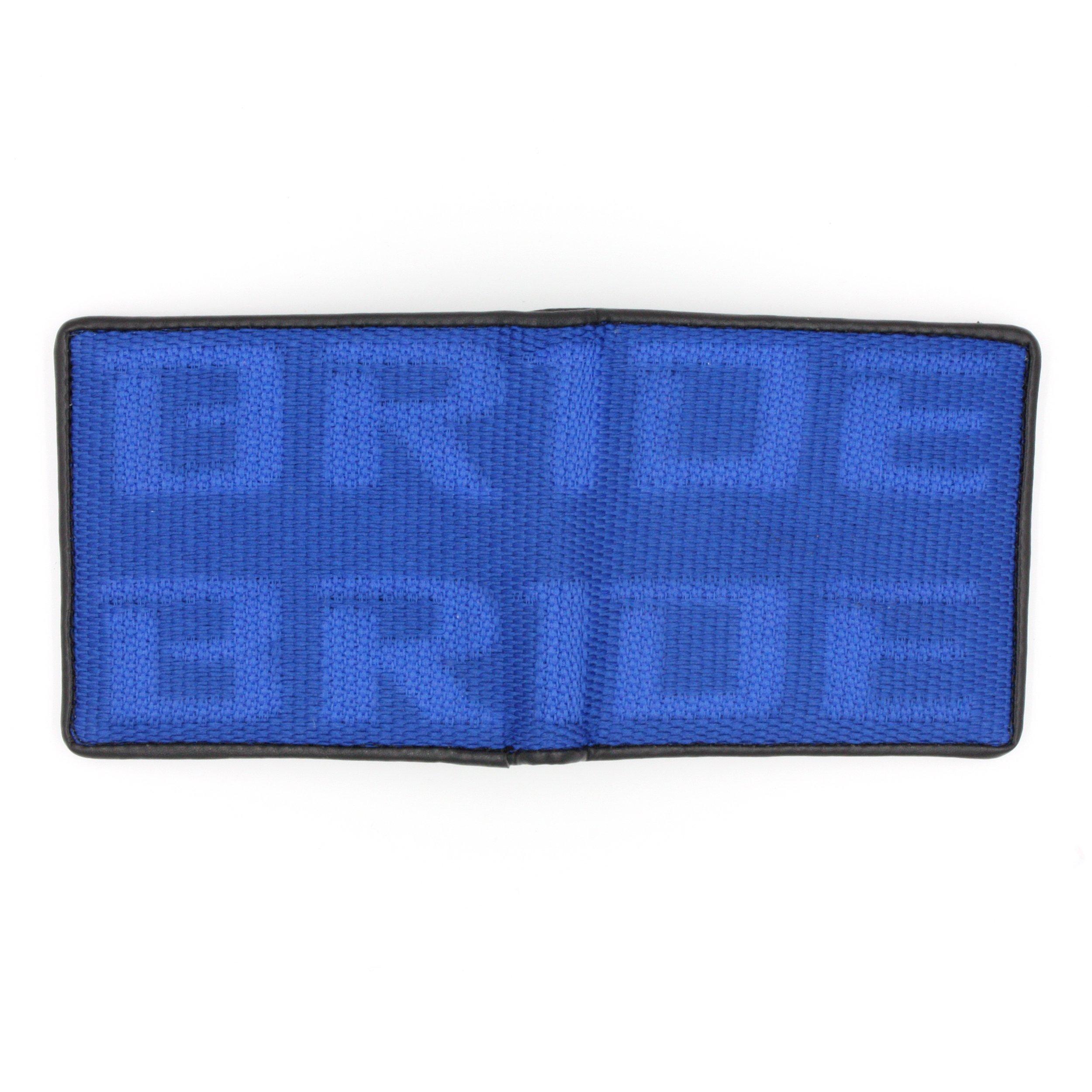 Kei Project Bride Racing Wallet Seat Fabric Leather Bi-fold Gradation (Bride-Blue)