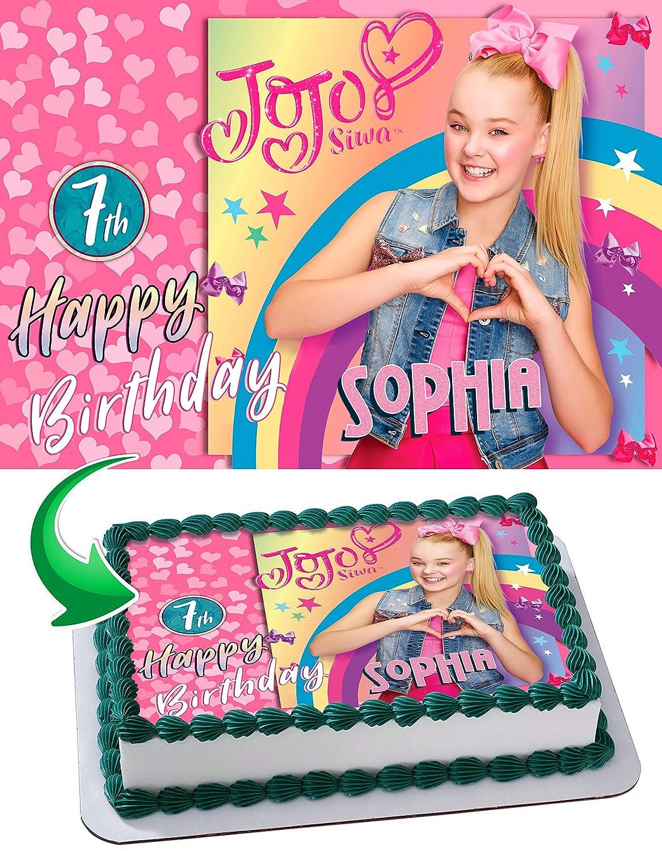 Jojo Siwa Cake Topper Www Topsimages Com