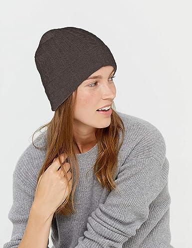 Style /& Republic Bonnet en cachemire taille unique avec tour de taille de 50 cm bonnet 100 /% cachemire unisexe.