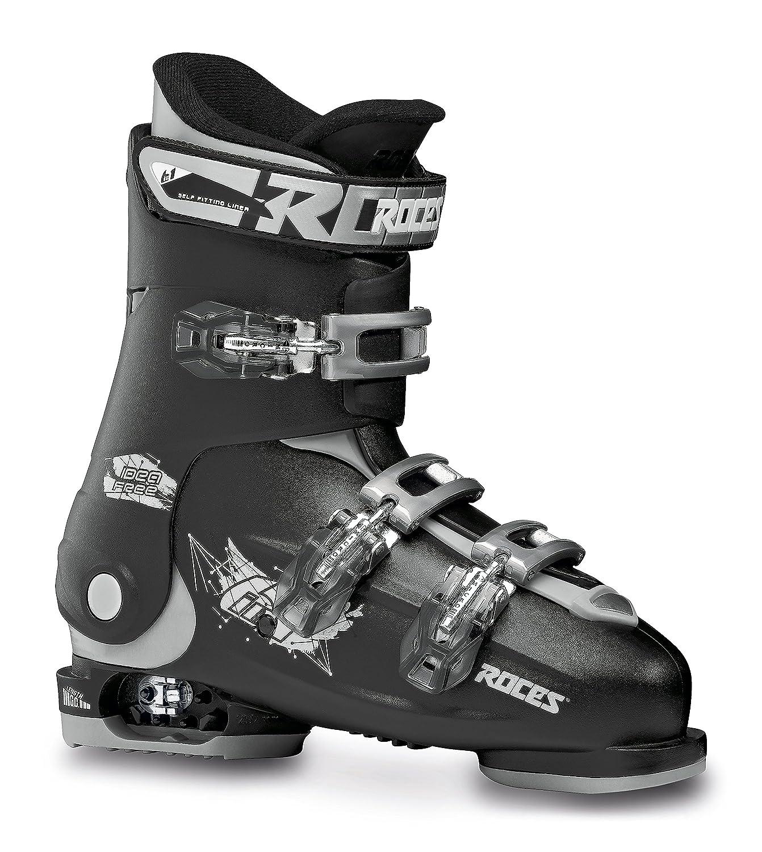 Roces Chaussures de Ski pour Enfant Idea UP Noir/argenté 36-40