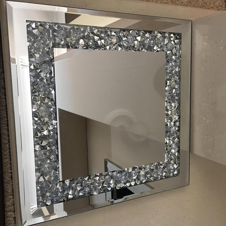 Écrasé Miroir Bougeoir