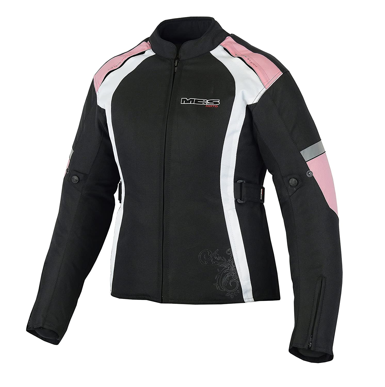 Veste de moto MBSmoto MJ-24 Imperm/éable et coupe-vent pour femme