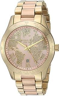 f92d72c6414b Amazon.com  Michael Kors Women s Layton Gold-Tone Watch MK6243 ...