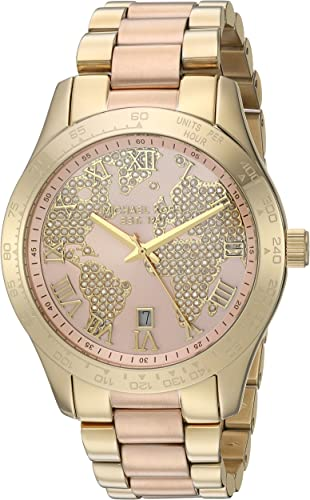 Michael Kors Women's Layton RoseGold Tone Watch MK6476