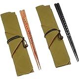 丸十 煌箸(きらめきばし) 夫婦揃 箸袋付き 桐箱入り 1F21-16 317746