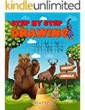 Step by Step Drawing Forest Animals: Easy Drawing For Beginners, How To Draw Book For Kids