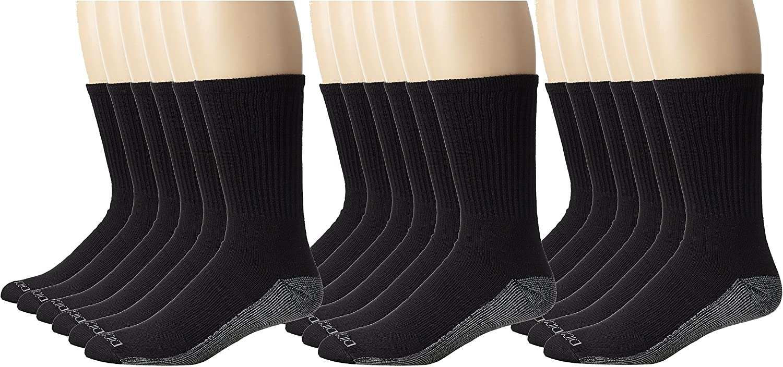 Dickies Men/'s Dri-tech Moisture Control Crew Socks Multipack