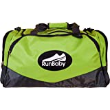 Best Sports Bag for Gym, College & Travel - Robust Design, Multi Compartments, Durable Build - Backed by Run Baby Sport