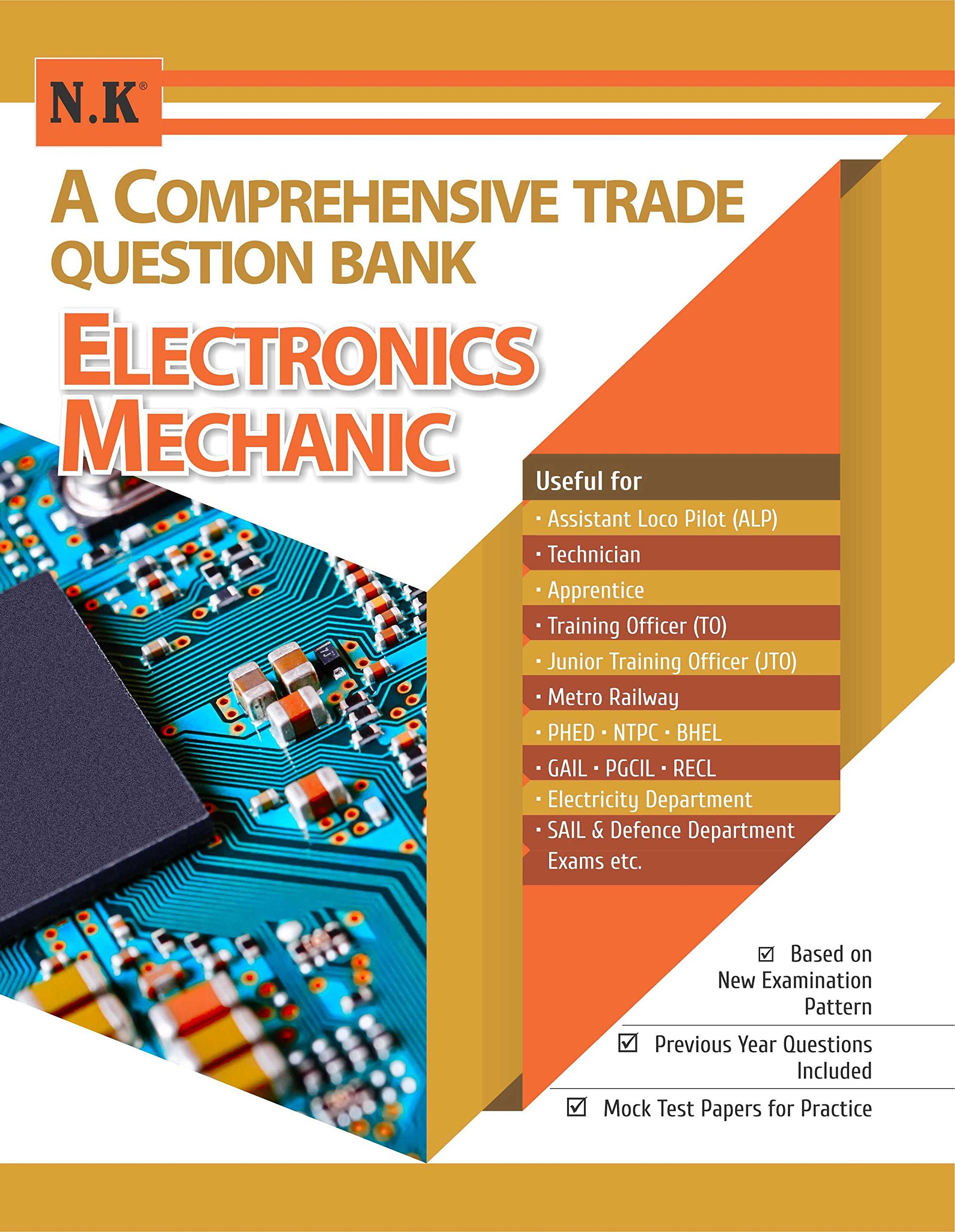 Buy A Comprehensive Trade Question Bank Electronics Mechanic Book Train Model Subway Sets Pdf Download Online At Low Prices In India