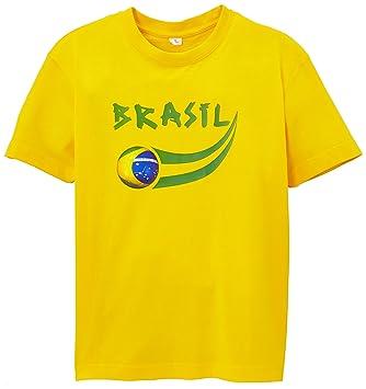 Supportershop nbsp;- Brasil Camiseta Supporter Niño: Amazon.es: Deportes y aire libre
