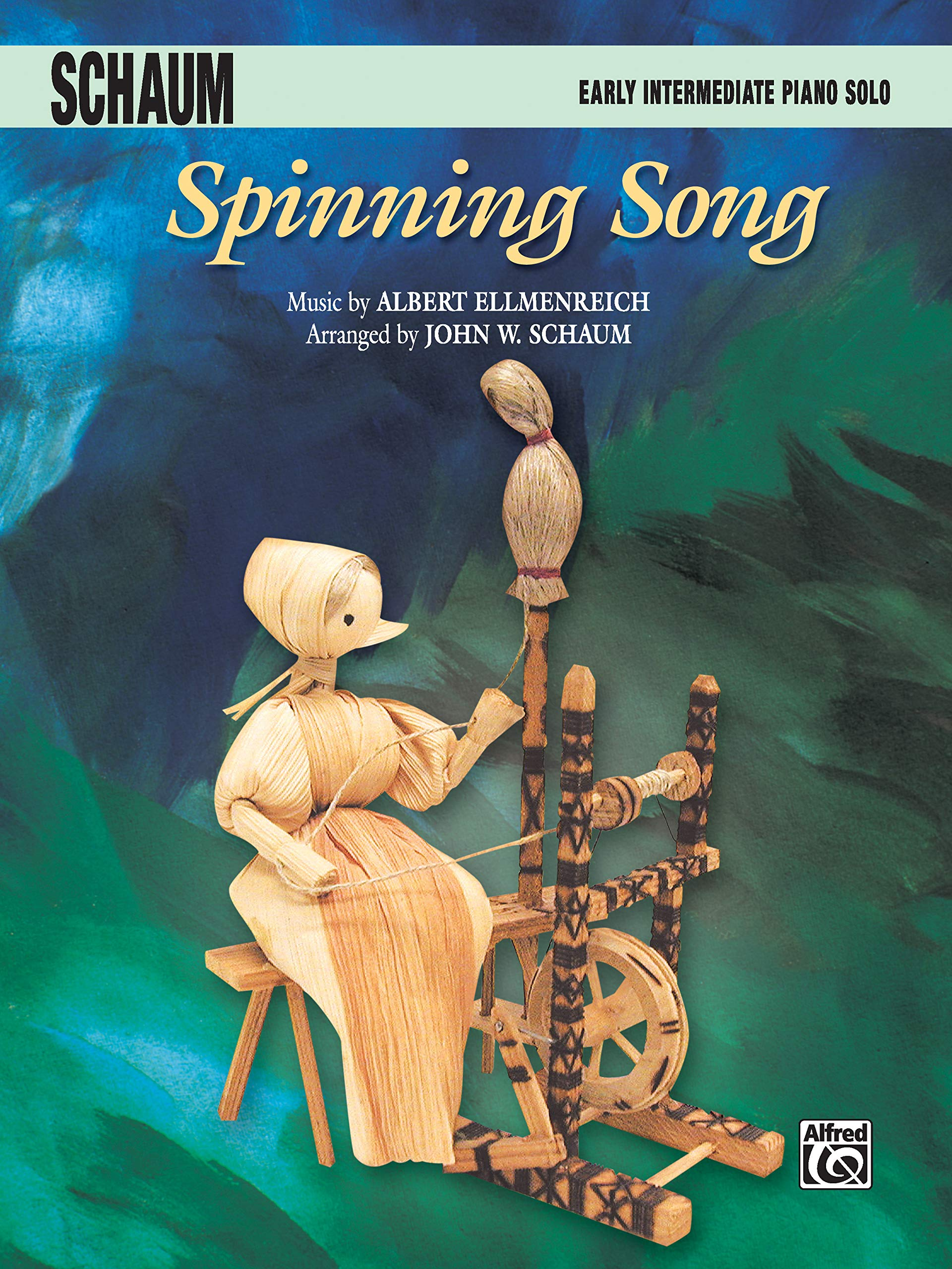 Spinning Song: Early Intermediate Piano Solo, Sheet: Amazon.es ...