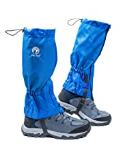 Pike Trail Leg Gaiters – Waterproof and Adjustable Snow Boot Gaiters for Hiking, Walking, Hunting, Mountain Climbing and Snowshoeing